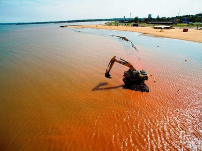 Yacyretá inicia readecuación de playas en Encarnación