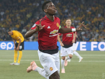 Manchester United aplastó de visita al Young Boys de Suiza