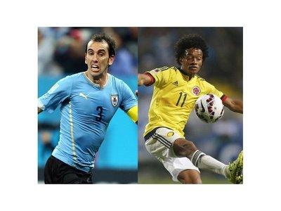 Uruguay-Colombia, duelo atractivo en el Centenario