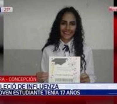 Influenza mata a una joven en Concepción
