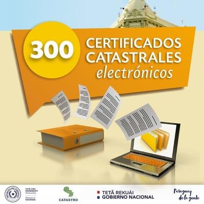 Emiten 300 certificados a través del Expediente Electrónico