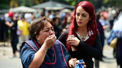 La cifra aumentó a 138 muertos tras un terremoto de magnitud 7,1 en México