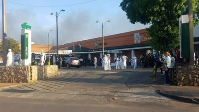 HOY / Fuego controlado en supermercado: no se reportan heridos