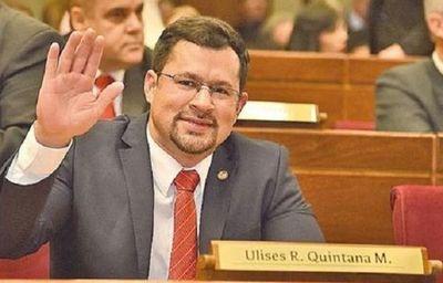 Añetete analizará situación de Ulises Quintana