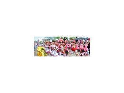 Colorido desfile de primavera en Caacupé