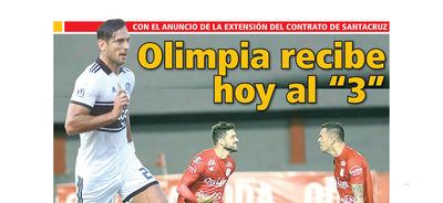 """Olimpia recibe hoy al """"3"""""""