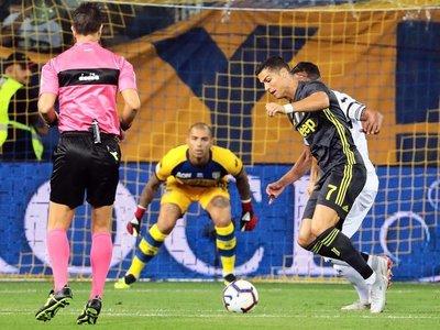 Juventus triunfa sin goles de Cristiano
