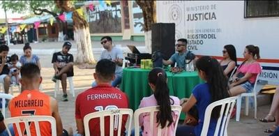 Jóvenes participaron de una jornada de charlas