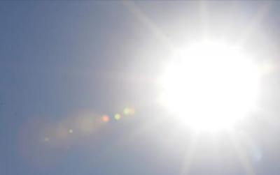 Calor de 37 grados para este domingo