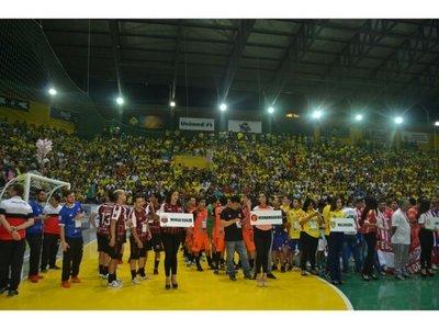 Gran inicio del Campeonato Nacional de fútbol de salón