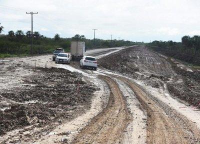 Pavimentación de ruta Villeta-Alberdi tiene avance del 89% desde el Km. 40