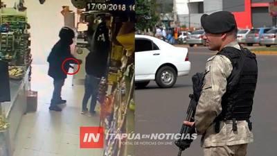 DIRECTOR ANUNCIÓ DESPLIEGUE POLICIAL EN CAMBYRETÁ TRAS ATRACOS
