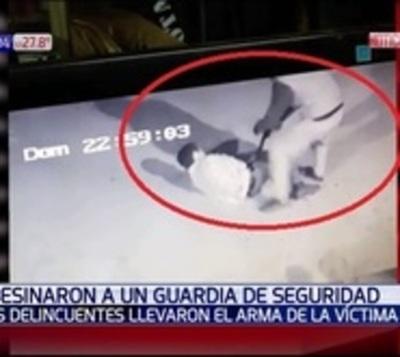 Así fue el crimen del guardia de seguridad en Capiatá
