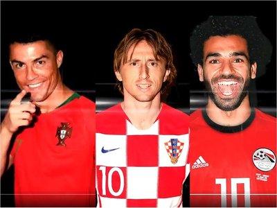 CR7, Modric y Salah pugnarán por el premio The Best