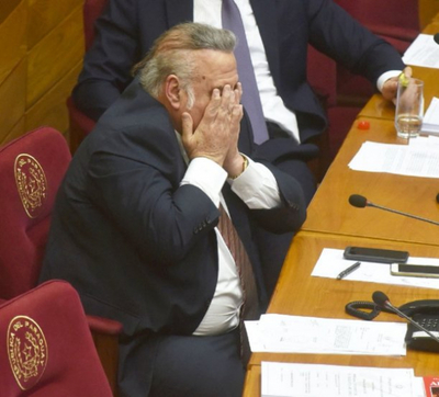 González Daher se entrega a la Justicia