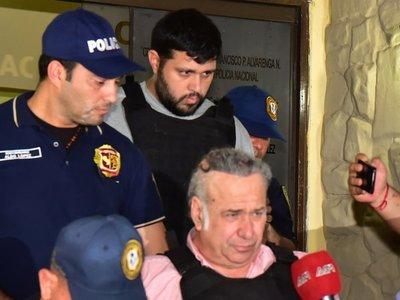Óscar González Daher y su hijo ya están recluidos en la Agrupación Especializada