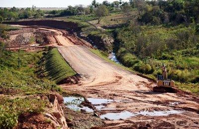 Se retrasa terminación del asfaltado de la ruta Curuguaty-Ygatimí-Ypejhú