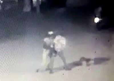 Circuito cerrado filma el asesinato de un guardia de seguridad en Capiatá