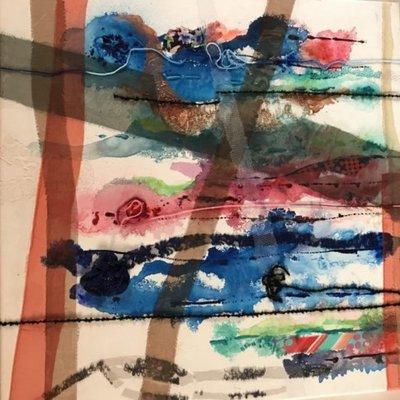 Entrelazando recuerdos, pinturas en la Manzana