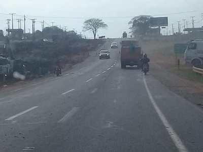 Tapé Pora: Conductores advierten riesgos