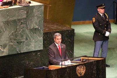 Jefe de Estado ratifica ante la ONU compromiso con el desarrollo sostenible