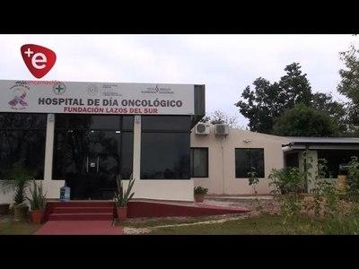 Pareja de buen corazón dona millonario aporte al Hospital Día Oncológico de Encarnación