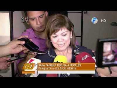 Recusan a fiscales del caso González Daher