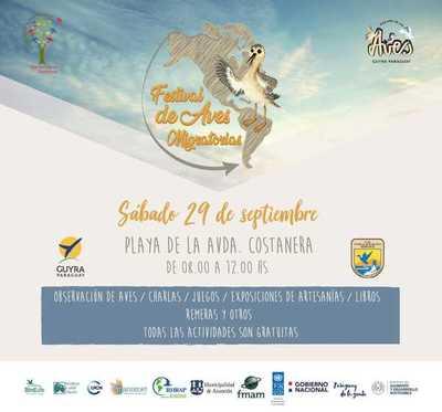 Este sábado se realizará el Festival de Aves Migratorias 2018