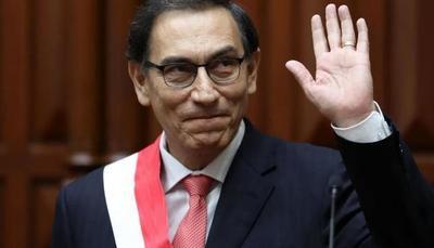 La aprobación del presidente de Perú sube al 61 %, la más alta de su mandato