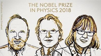 Nobel de Física 2018 para las herramientas hechas de luz
