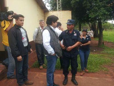 GOBERNADOR INVITA A FAMILIARES DE ARLAN PARA MARCHA