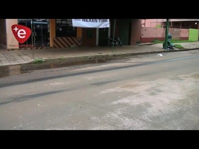 RED CLOACAL COLAPSADA EN BARRIO SAN ROQUE