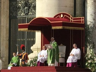 Obispo de San Pedro participa del Sínodo de Obispos en Roma