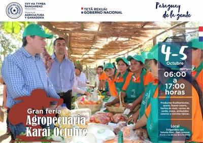 San Lorenzo: Feria Agropecuaria Karai Octubre