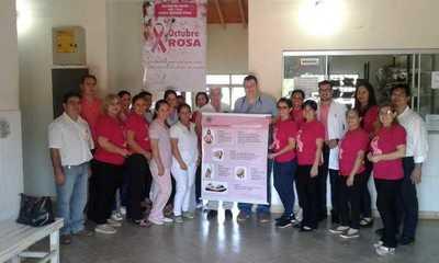 """Presentan calendario de actividades del """"Octubre Rosa"""""""