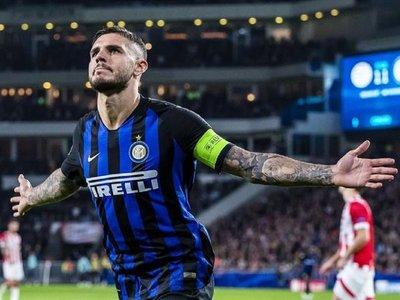 Icardi lidera remontada del Inter y deja tocado al PSV