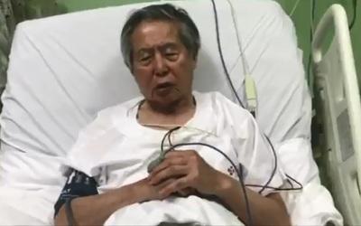 Tras la anulación de su indulto, Fujimori fue ingresado a una clínica de Lima