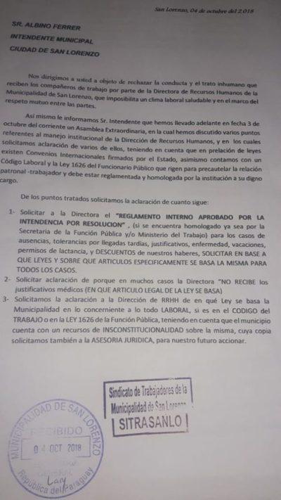 """Emplazan a Ferrer para responder por trato inhumano de """"Techi"""""""