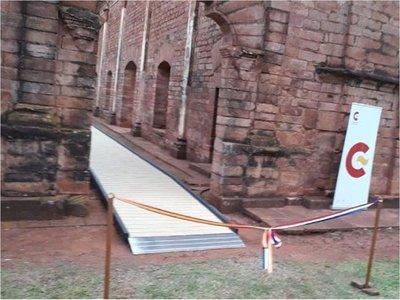 Jesús de Tavarangue se hace accesible e incorpora rampas