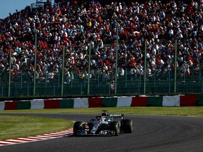 Hamilton reserva sitio en la mesa de Fangio