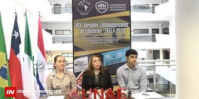 XIX JORNADAS LATINOAMERICANAS DE EDUCACIÓN 2018 SE DESARROLLARÁ EN LA UNAE