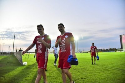 La primera práctica albirroja al mando de Osorio