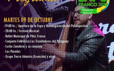 Con varios atractivos inicia Expo Franco