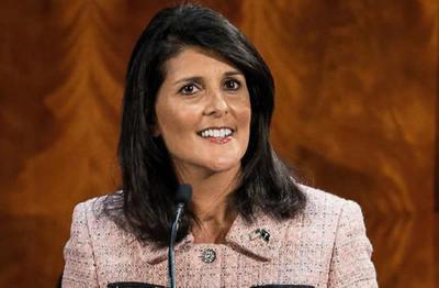 Renunció Nikki Haley, embajadora de Estados Unidos ante la ONU