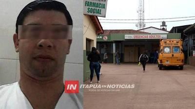 DIRECTOR DEL HOSPITAL LAMENTAN LO OCURRIDO CON AUXILIAR DE ENFERMERÍA