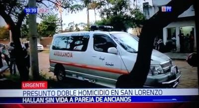 Hallan cuerpos sin vida de pareja en San Lorenzo