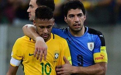 Brasil, ante Uruguay en noviembre