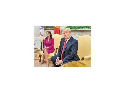 Haley  renuncia como embajadora de EEUU ante Naciones Unidas