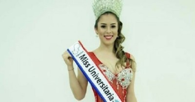 Miss Universitaria Paraguay participará de un certamen en Corea