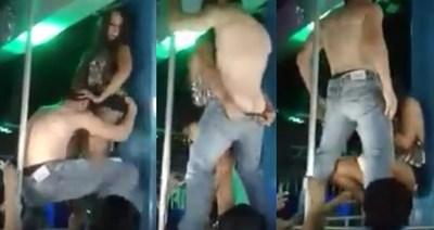 Escandalo! Nuevo vídeo de Gaby del Campo haciendo shows embarazada de dos meses?